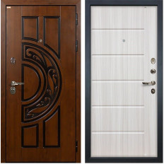 Входная дверь Лекс Спартак Cisa Сандал белый (панель №42)