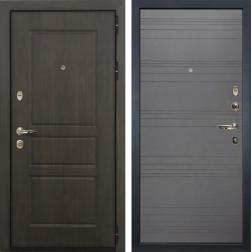 Входная дверь Лекс Сенатор Винорит Графит софт (панель №70)
