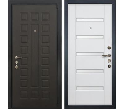 Входная стальная дверь Лекс 4А Неаполь Mottura Ясень белый (панель №34)