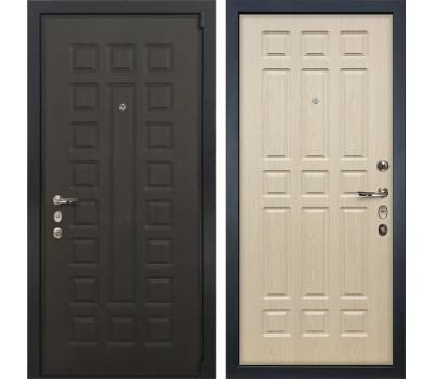 Входная стальная дверь Лекс 4А Неаполь Mottura Дуб беленый (панель №28)