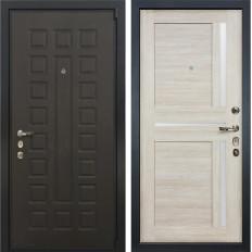Входная дверь Лекс 4А Неаполь Mottura Баджио Ясень кремовый (панель №49)