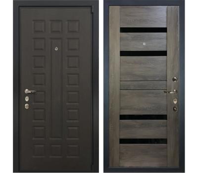 Входная стальная дверь Лекс 4А Неаполь Mottura Неро Графит шале (панель №65)