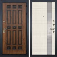 Входная дверь Лекс Гладиатор 3К Винорит Новита Дуб беленый (панель №52)