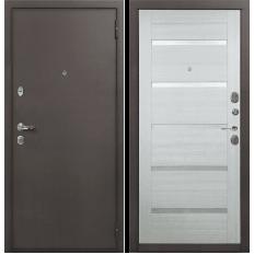 Входная дверь Лекс 1А Клеопатра-2 Дуб беленый (панель №58)