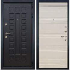 Входная дверь Лекс Гладиатор 3К Дуб фактурный кремовый (панель №63)