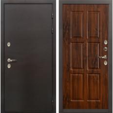 Входная дверь с терморазрывом Лекс Термо Сибирь 3К Винорит дуб тёмный (панель №83)