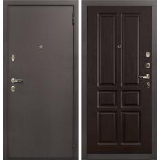 Входная дверь Лекс 1А Ясень шоколад (панель №86)