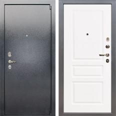 Входная дверь Лекс 3 Барк Софт белый снег (панель №94)