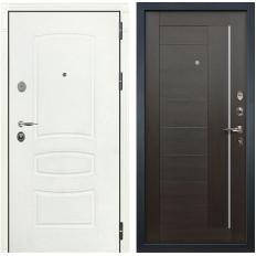 Входная дверь Лекс Легион 3К Шагрень белая / Верджиния Венге (панель №39)