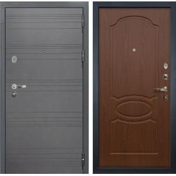 Входная дверь Лекс Легион 3К Софт графит / Береза мореная (панель №12)