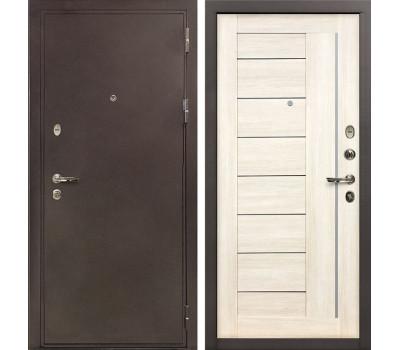 Входная стальная дверь Лекс 5А Цезарь Верджиния Дуб беленый (панель №38)