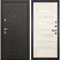 Входная металлическая дверь Лекс Сенатор 8 Сицилио Дуб беленый (панель №46)