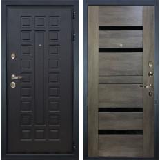 Входная дверь Лекс Гладиатор 3К Неро Графит шале (панель №65)
