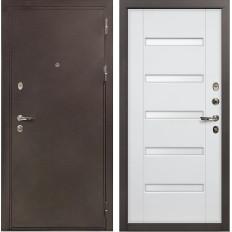 Входная дверь Лекс 5А Цезарь Ясень белый (панель №34)