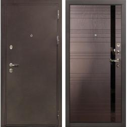 Входная дверь Лекс 5А Цезарь Ясень шоколад (панель №31)