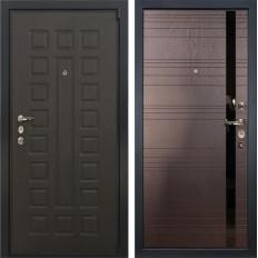 Входная дверь Лекс 4А Неаполь Mottura Ясень шоколад (панель №31)