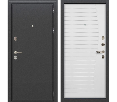 Входная стальная дверь Лекс Колизей Ясень белый (панель №36)