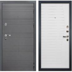 Входная дверь Лекс Легион 3К Софт графит / Ясень белый (панель №36)