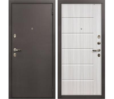 Входная стальная дверь Лекс 1А Сандал белый (панель №42
