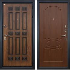 Входная дверь Лекс Гладиатор 3К Винорит Береза мореная (панель №12)