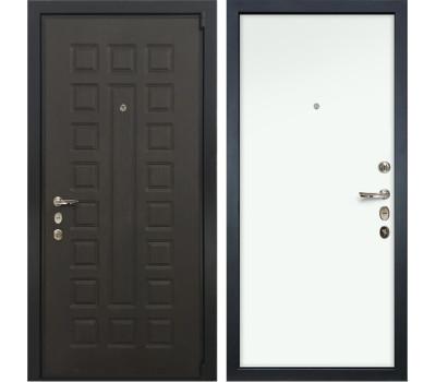 Входная стальная дверь Лекс 4А Неаполь Mottura Винорит Белый (панель №59)