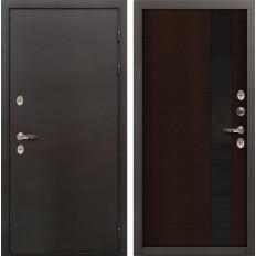 Входная дверь с терморазрывом Лекс Термо Сибирь 3К Новита Венге (панель №53)
