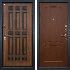 Входная дверь Лекс Гладиатор 3К Винорит Береза мореная (панель №11)