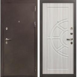 Входная дверь Лекс 5А Цезарь Сандал белый (панель №44)