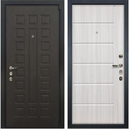 Входная стальная дверь Лекс 4А Неаполь Mottura Сандал белый (панель №42)