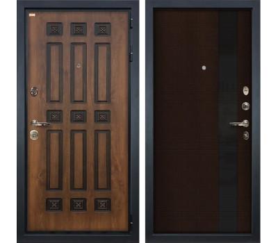 Входная металлическая дверь Лекс Гладиатор 3К Винорит Новита Венге (панель №53)