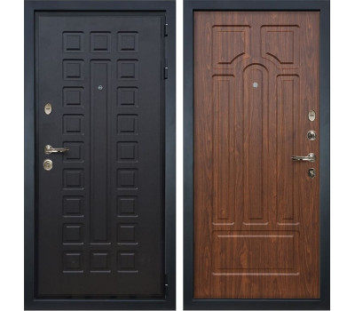 Входная металлическая дверь Лекс Гладиатор 3К Береза мореная (панель №26)
