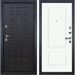 Входная дверь Лекс Гладиатор 3К Вероника-1 Эмаль Белая (панель №55)