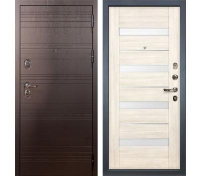 Входная стальная дверь Лекс Легион 3К Сицилио Дуб беленый (панель №46)
