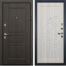 Входная дверь Лекс Сенатор Винорит Сандал белый (панель №44)