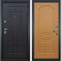 Входная дверь Лекс Гладиатор 3К Дуб натуральный (панель №15)