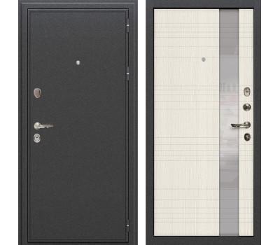 Входная стальная дверь Лекс Колизей Новита Дуб беленый (панель №52)