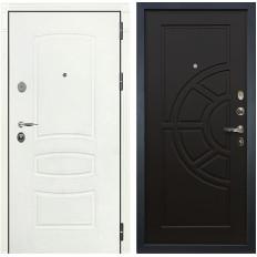 Входная дверь Лекс Легион 3К Шагрень белая / Венге (панель №43)