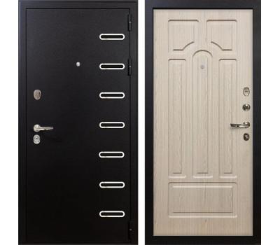 Входная металлическая дверь Лекс Витязь Дуб беленый (панель №25)
