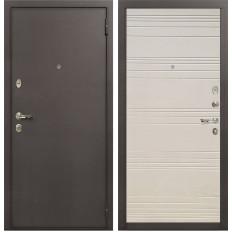 Входная дверь Лекс 1А Дуб фактурный кремовый (панель №63)