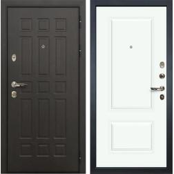 Входная дверь Лекс Сенатор 8 Вероника-1 Эмаль Белая (панель №55)