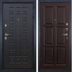 Входная дверь Лекс Гладиатор 3К Ясень шоколад (панель №84)