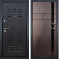 Входная дверь Лекс Гладиатор 3К Ясень шоколад (панель №31)