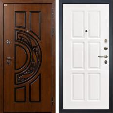 Входная дверь Лекс Спартак Cisa Софт белый снег (панель №85)