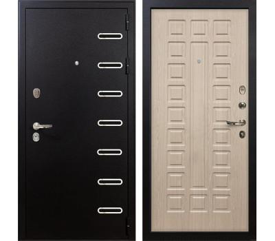 Входная металлическая дверь Лекс Витязь Дуб беленый (панель №20)