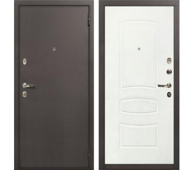 Входная стальная дверь Лекс 1А Белая шагрень (панель №68)