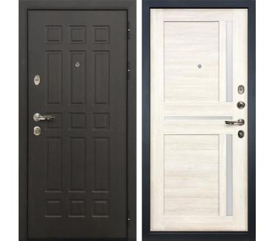 Входная металлическая дверь Лекс Сенатор 8 Баджио Дуб беленый (панель №47)