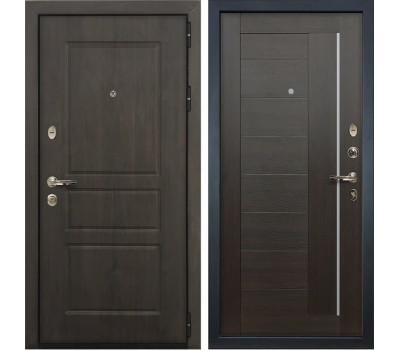 Входная стальная дверь Лекс Сенатор Винорит Верджиния Венге (панель №39)