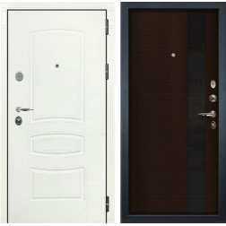 Входная дверь Лекс Легион 3К Шагрень белая / Новита Венге (панель №53)