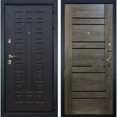Входная дверь Лекс Гладиатор 3К Терра Графит шале (панель №64)