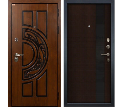 Входная стальная дверь Лекс Спартак Cisa Новита Венге (панель №53)